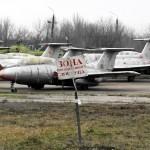 Abandoned flight training center near Zaporozhye