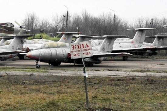 Abandoned flight training center near Zaporozhye, Ukraine photo 1