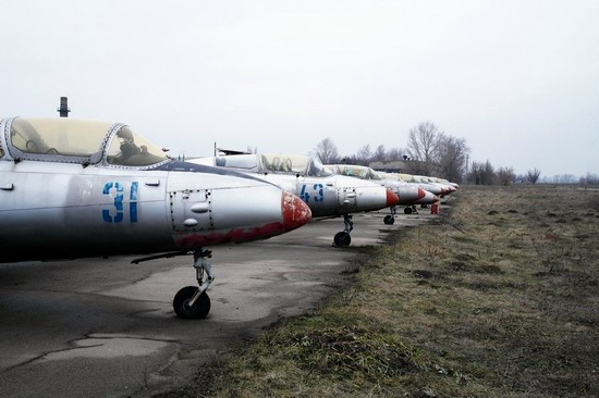 Abandoned flight training center near Zaporozhye, Ukraine photo 18