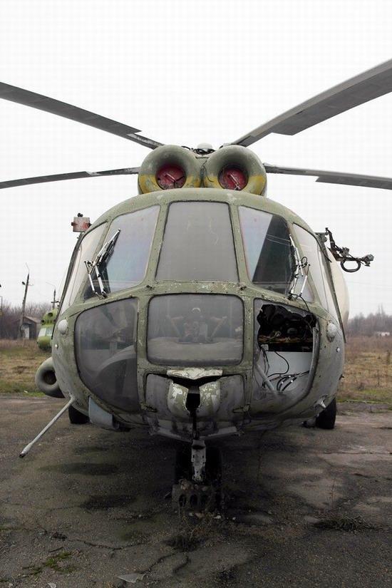 Abandoned flight training center near Zaporozhye, Ukraine photo 22