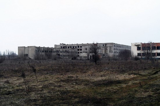 Abandoned flight training center near Zaporozhye, Ukraine photo 5