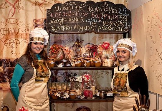 National Day of Chocolate in Lviv, Ukraine photo 12