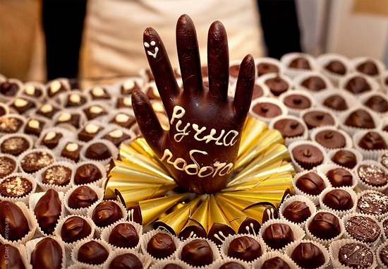National Day of Chocolate in Lviv, Ukraine photo 2
