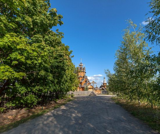 The wooden monastery of All Saints in Svyatogorsk Lavra photo 2