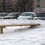 Abnormally heavy snowfall in Kiev