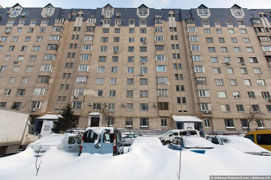 Abnormally heavy snowfall in Kiev, Ukraine photo 11