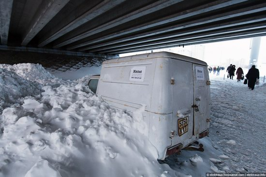 Abnormally heavy snowfall in Kiev, Ukraine photo 18
