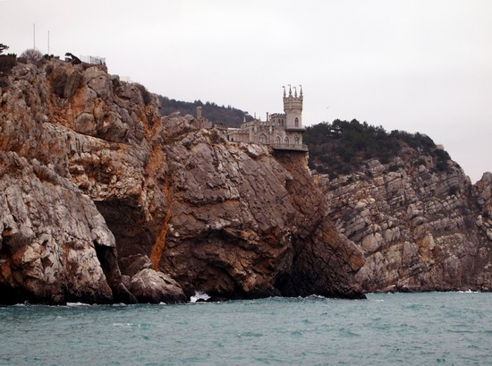 Architectural monument Swallow's Nest and surroundings photo 17