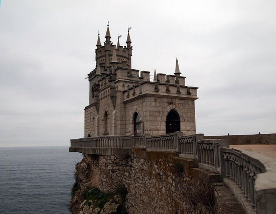 Architectural monument Swallow's Nest and surroundings photo 8
