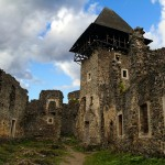The ruins of medieval Nevitsky castle