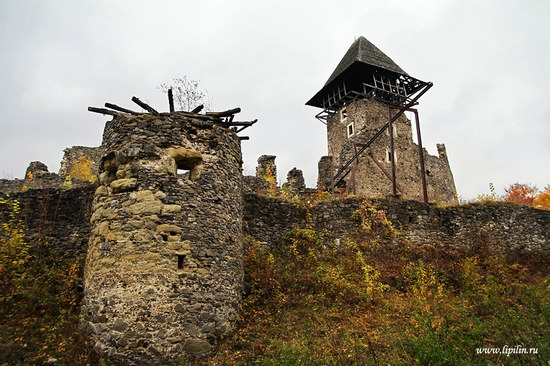 Nevitsky castle, Zakarpattia region, Ukraine photo 14