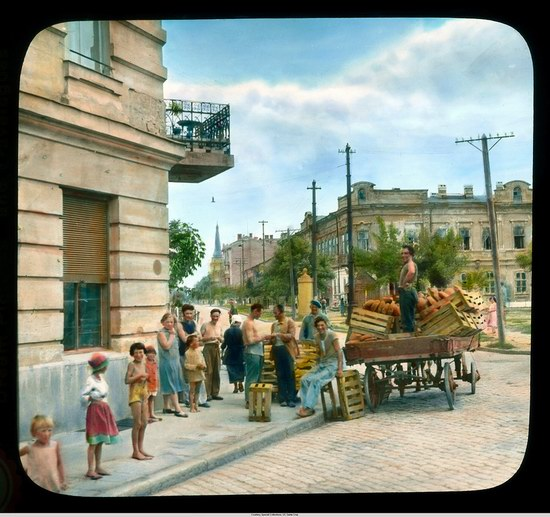 The color photos of Odessa in 1931 picture 14