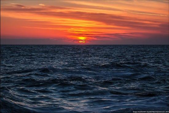 Sunset and sunrise in Crimea, Ukraine photo 2