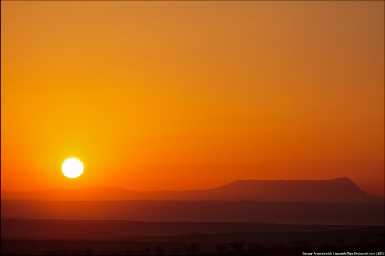 Sunset and sunrise in Crimea, Ukraine photo 3
