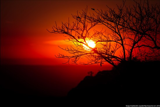 Sunset and sunrise in Crimea, Ukraine photo 4
