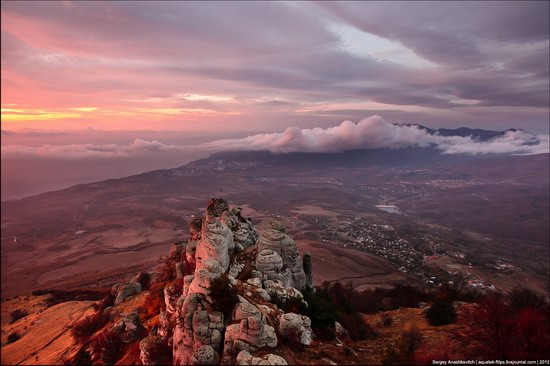 Sunset and sunrise in Crimea, Ukraine photo 6