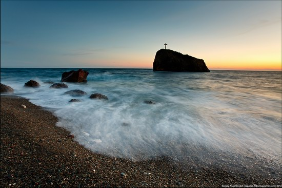 Sunset and sunrise in Crimea, Ukraine photo 7