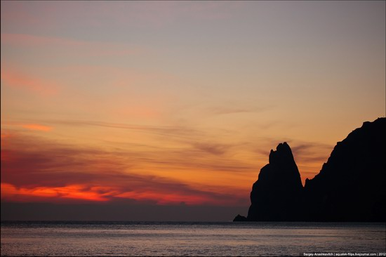 Sunset and sunrise in Crimea, Ukraine photo 8