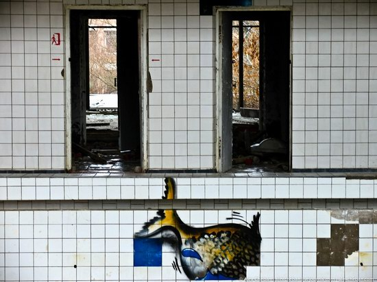 Graffiti of Pripyat - the ghost town, Chernobyl, Ukraine photo 10