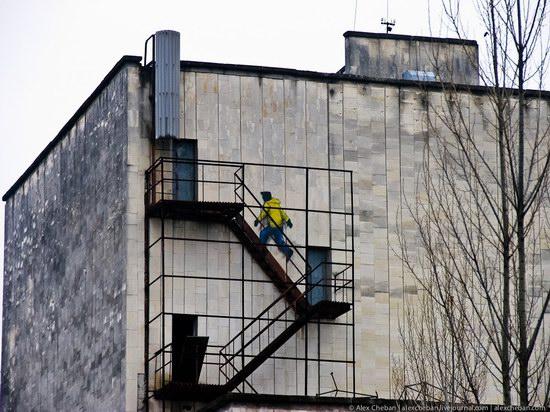 Graffiti of Pripyat - the ghost town, Chernobyl, Ukraine photo 19