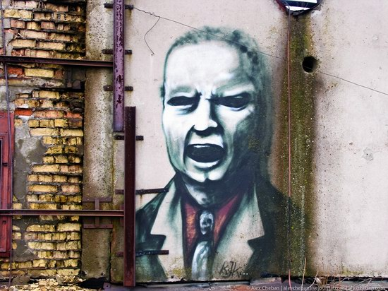 Graffiti of Pripyat - the ghost town, Chernobyl, Ukraine photo 21
