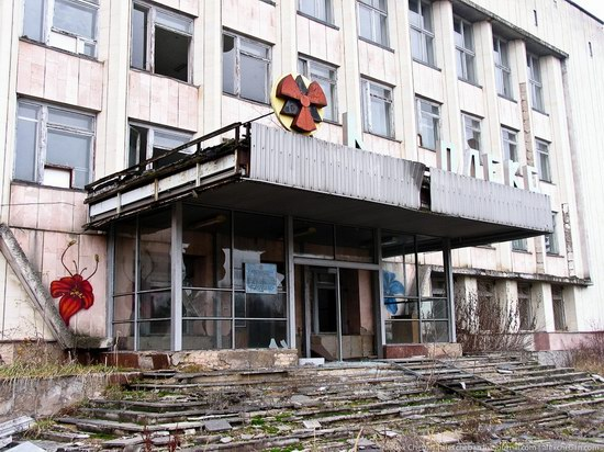 Graffiti of Pripyat - the ghost town, Chernobyl, Ukraine photo 29