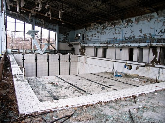 Graffiti of Pripyat - the ghost town, Chernobyl, Ukraine photo 9