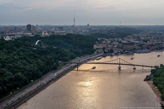 Air balloon flight over Kiev, Ukraine photo 10