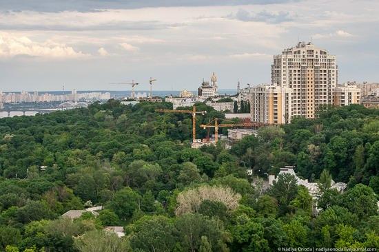Air balloon flight over Kiev, Ukraine photo 11