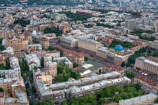 Air balloon flight over Kiev, Ukraine photo 17