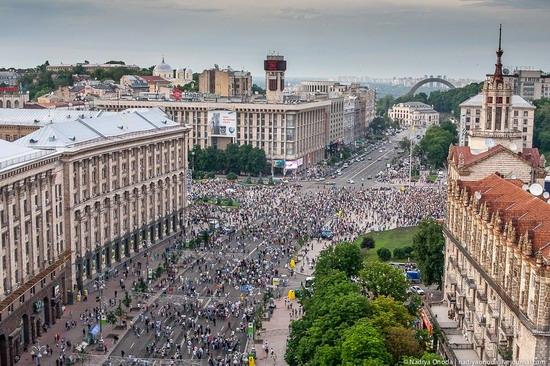 Air balloon flight over Kiev, Ukraine photo 19