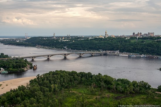 Air balloon flight over Kiev, Ukraine photo 2