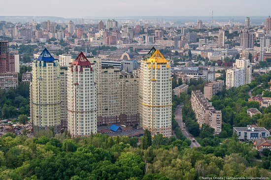 Air balloon flight over Kiev, Ukraine photo 30