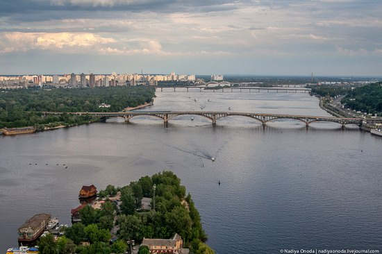 Air balloon flight over Kiev, Ukraine photo 8