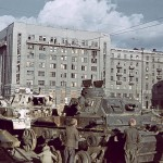 Kharkiv during the German occupation in color