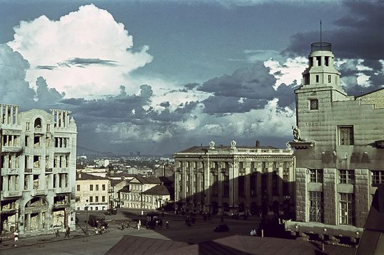 Kharkiv, Ukraine during the German occupation in color, photo 10