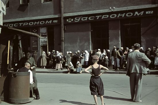 Kharkiv, Ukraine during the German occupation in color, photo 12