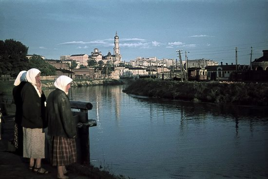 Kharkiv, Ukraine during the German occupation in color, photo 15