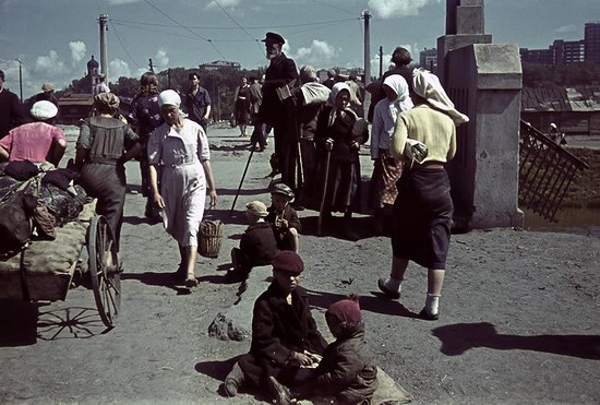 Kharkiv, Ukraine during the German occupation in color, photo 16