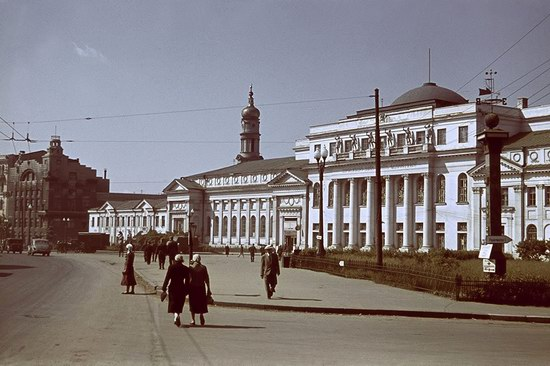 Kharkiv, Ukraine during the German occupation in color, photo 19