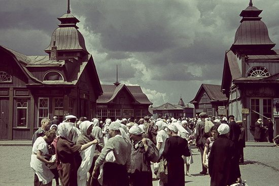 Kharkiv, Ukraine during the German occupation in color, photo 2