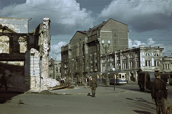 Kharkiv, Ukraine during the German occupation in color, photo 20