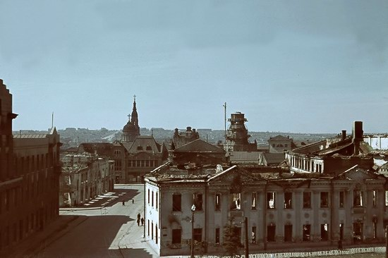 Kharkiv, Ukraine during the German occupation in color, photo 21