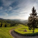 Spring in the Carpathian Mountains