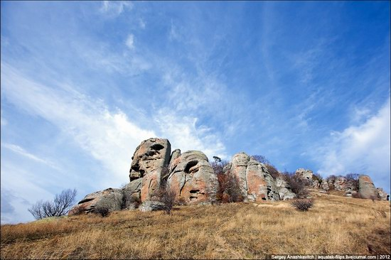 The Valley of Ghosts stone statues, Crimea, Ukraine photo 16