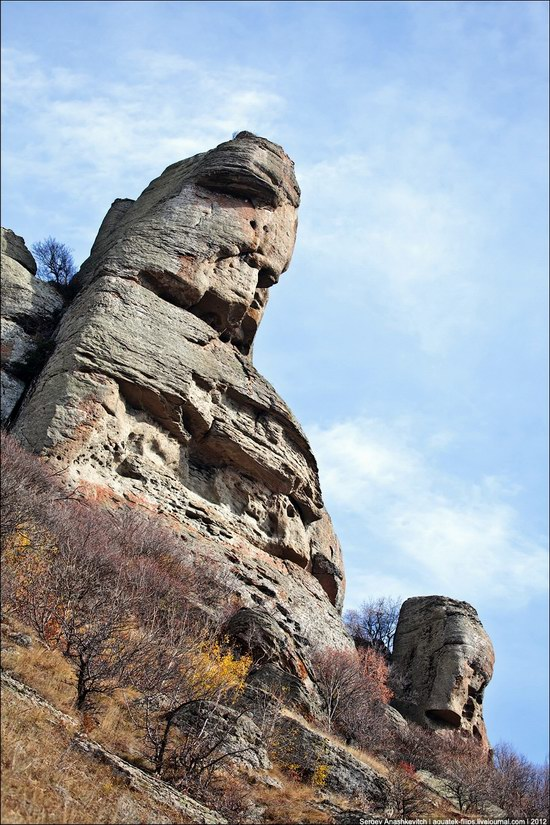 The Valley of Ghosts stone statues, Crimea, Ukraine photo 20