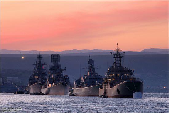 The Black Sea Fleet parade, Sevastopol, Ukraine photo 1