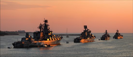 The Black Sea Fleet parade, Sevastopol, Ukraine photo 13