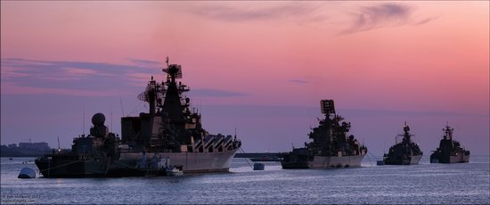 The Black Sea Fleet parade, Sevastopol, Ukraine photo 14