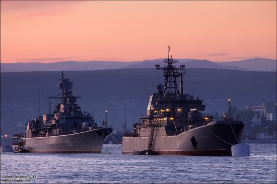 The Black Sea Fleet parade, Sevastopol, Ukraine photo 2